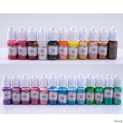 10 г УФ-смола УФ-отверждения жидкий жемчуг-блеск пигментная краска DIY художественные ремесла флуоресцентные красящий концентрат