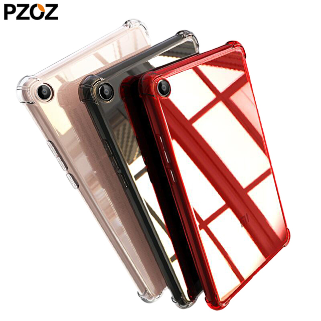 PZOZ para Xiaomi mi Pad 4 funda de silicona Tpu mi pad 4 Plus caso cubierta protectora a prueba de golpes Tablet Xio mi Pad4 8 de 10 pulgadas