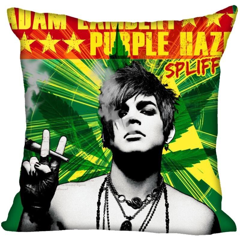 Custom Adam Lambert Pillowcase Standard Size Design Cotton Pillow Case