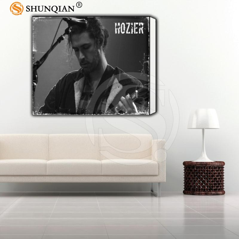 Custom Framed Picture Hozier Classic Canvas Prints Realistic DIY Oil Painting Fabric Printed On Canvas Best