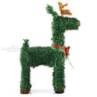 Christmas Holiday Party Decor Xmas Reindeer Ornament Deer Outdoor Stand DIY Gift