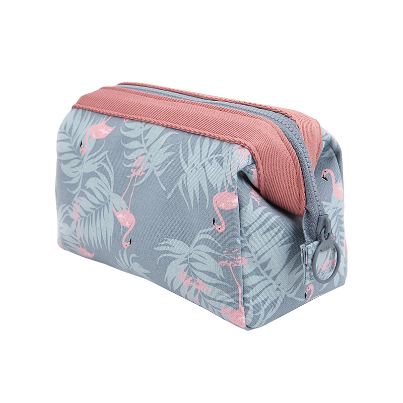 Makeup Brushes Storage Bag Printed Polyester Cotton Waterproof Travel Cosmetics Case 5pcs bnc male to rca female coax cable connector adapter f m coupler for cctv camera accessories