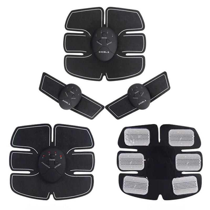 EMS Wireless Muscle Stimulator Smart Fitness Abdominal Training Device Electric Weight Loss Stickers Body Slimming Belt Unisex 4