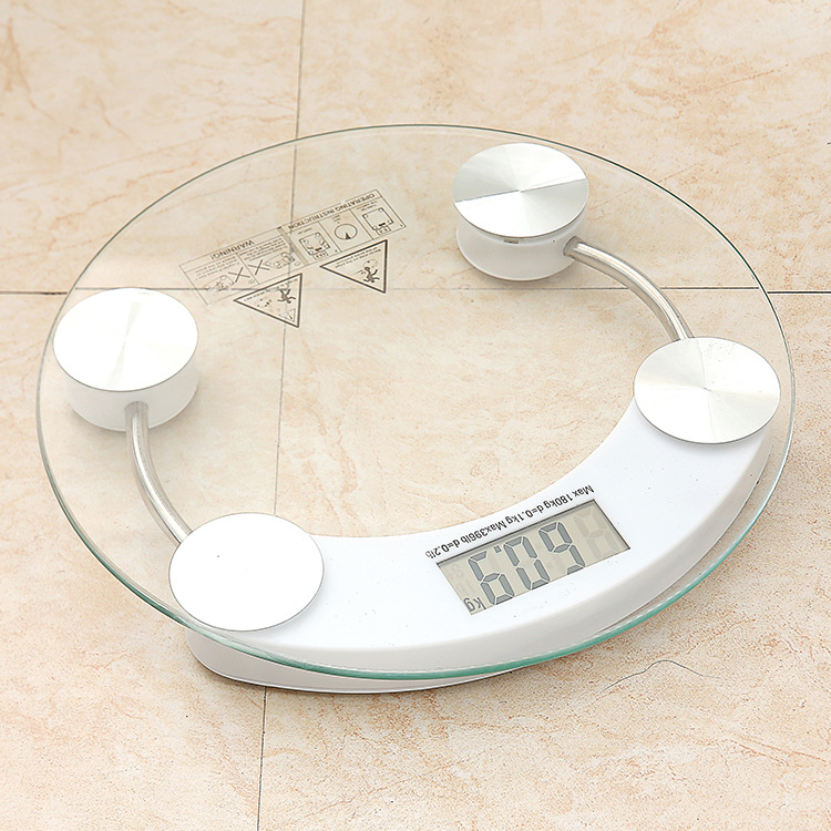 lab teaching tool Body Scales Glass Smart Household Electronic Digital Floor Weight Balance Bariatric Display 150kg