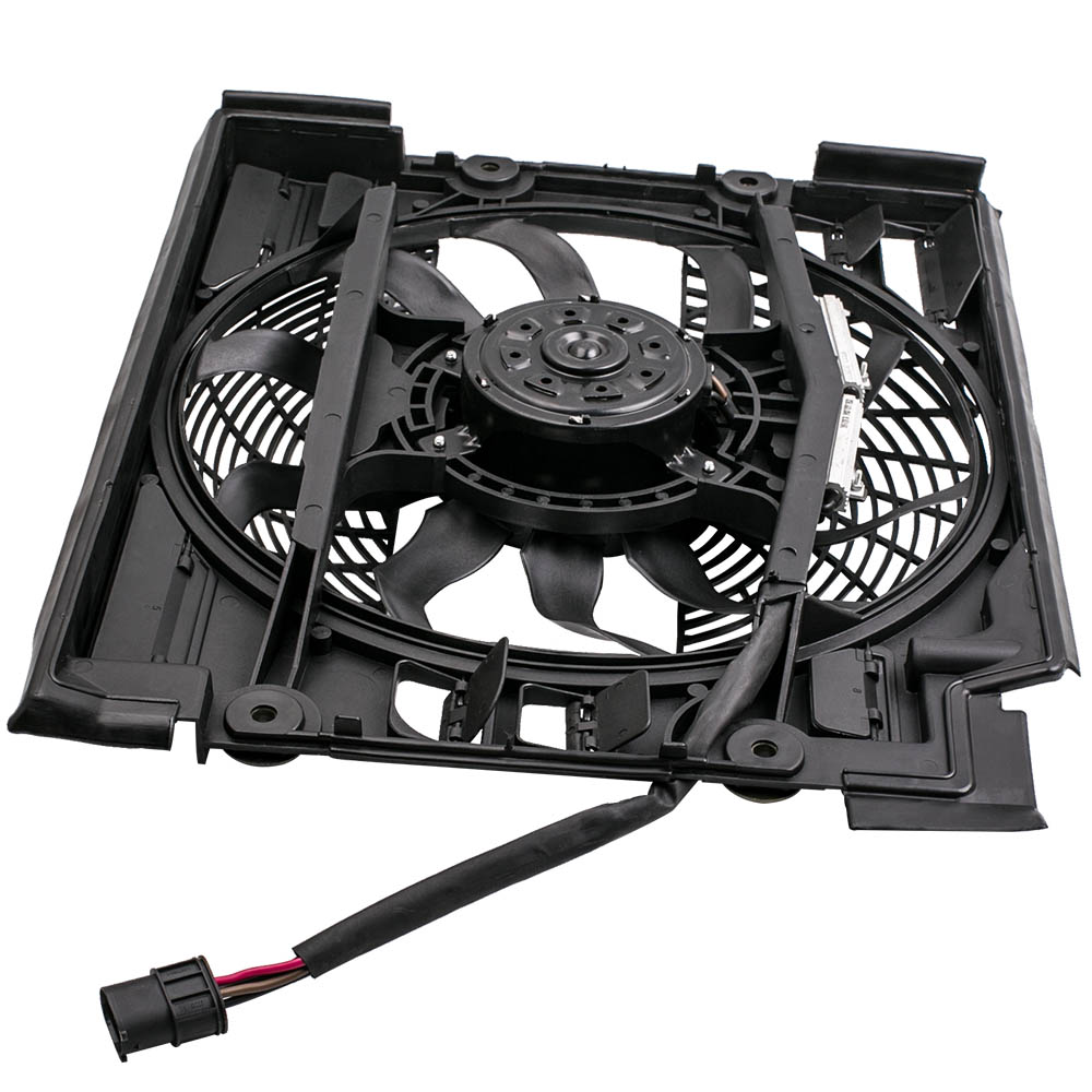 <font><b>Cooling</b></font> <font><b>Fan</b></font> <font><b>Motor</b></font> for <font><b>BMW</b></font> 5 Series E39 Radiator <font><b>Fan</b></font> 10 <font><b>Fan</b></font> Blades 1995-2004 image