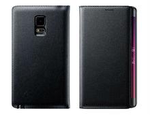 Тонкий Корпус Батареи дело Жилья Для Samsung Galaxy Note Пограничном N9150 Кожаный Чехол Флип Бумажник Обложка Оригинальный Чехол