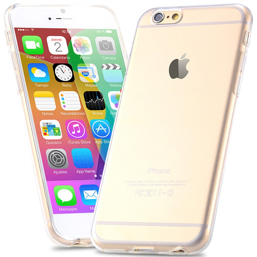 For iPhone6 TPU Soft Case Protect Camera Cover Crystal Clear Transparent  Silicon Ultra Thin Slim Shell for iPhone 6s Plus-in Half-wrapped Case from  ... ceb42e34a