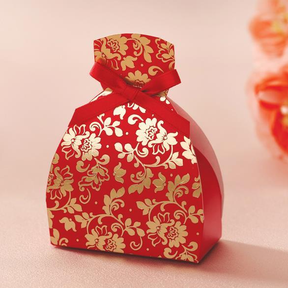 Chino rojo vestido de novia regalos del caramelo de Chocolate ...