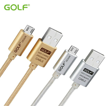 100% GOLF Micro USB Data Sync Charger Cable For XIAOMI 4 SAMSUNG S6 S7 HTC SONY LG G3 Android Phone Rapid Charging Wire 1M 2M 3M