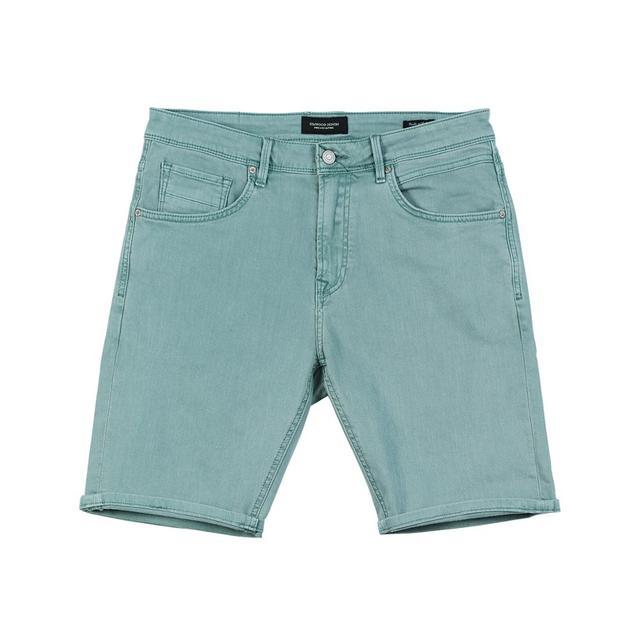 Men's Denim Shorts Summer Knee Length Cotton Casual