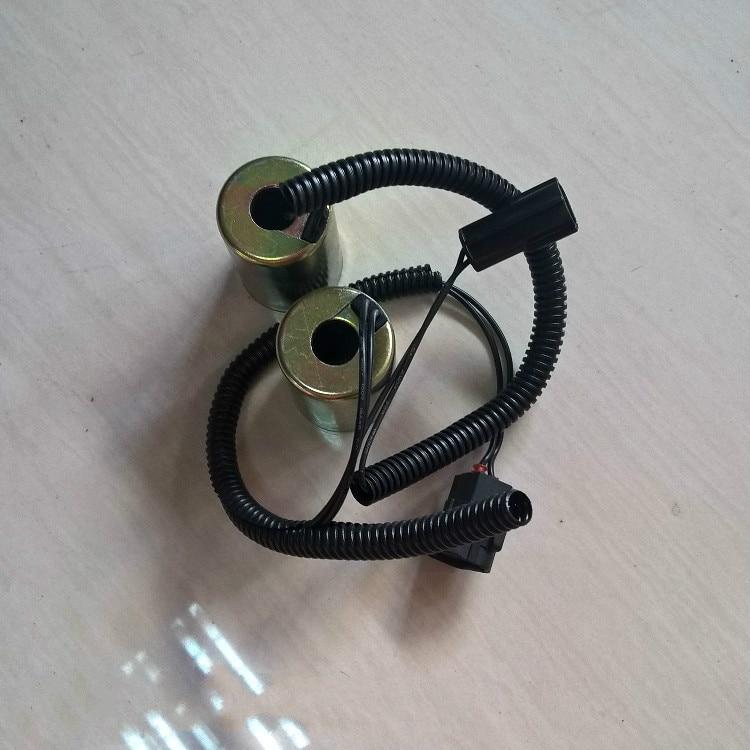 Daewoo doosan pilot solenoid valve DH150-7DH220-5225-7300-5 solenoid valve coil spool digger aparts excavator