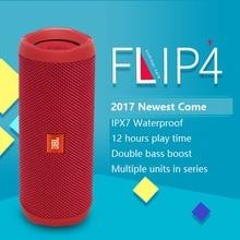 New Original JBL Flip 4 Newest Mini Portable Bluetooth IPX7 Waterproof Speaker with freeshipping pk charge 2 pulse 2 CHR2+