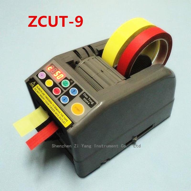 ZCUT-9 packing tape dispenser 6-60mm width 5-999mm length Tape Dispenser Office Equipment zcut 9 automatic tape machine dispenser tape cutting machine 6 60mm width 5 999mm length for aluminum copper foil tape