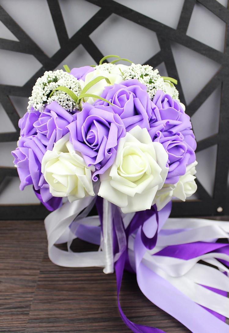 Wedding Bouquet de mariage Bridal Bouquet Wedding Bouquet Bridesmaid Artificial flower Boeket buques de noivas Bruidsboeket (10)