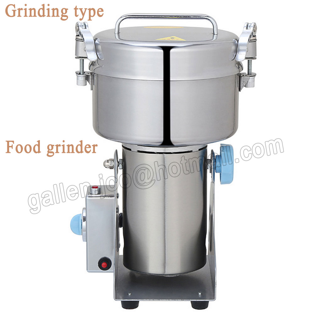 1000g Electric Herbal Powder Mill Dry Food Grinder Crusher Machine Swing Type Mills for Coffee Cocoa bean Spices Cereals herbal muscle