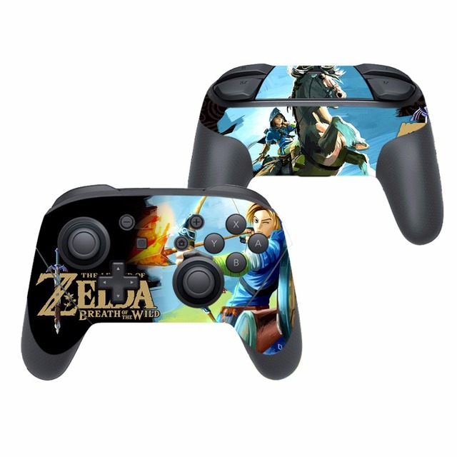 Game The Legend of Zelda Vinyl Cover Decal Skin Sticker for Nintendo Switch Pro Controller Gamepad Skin Stickers 5