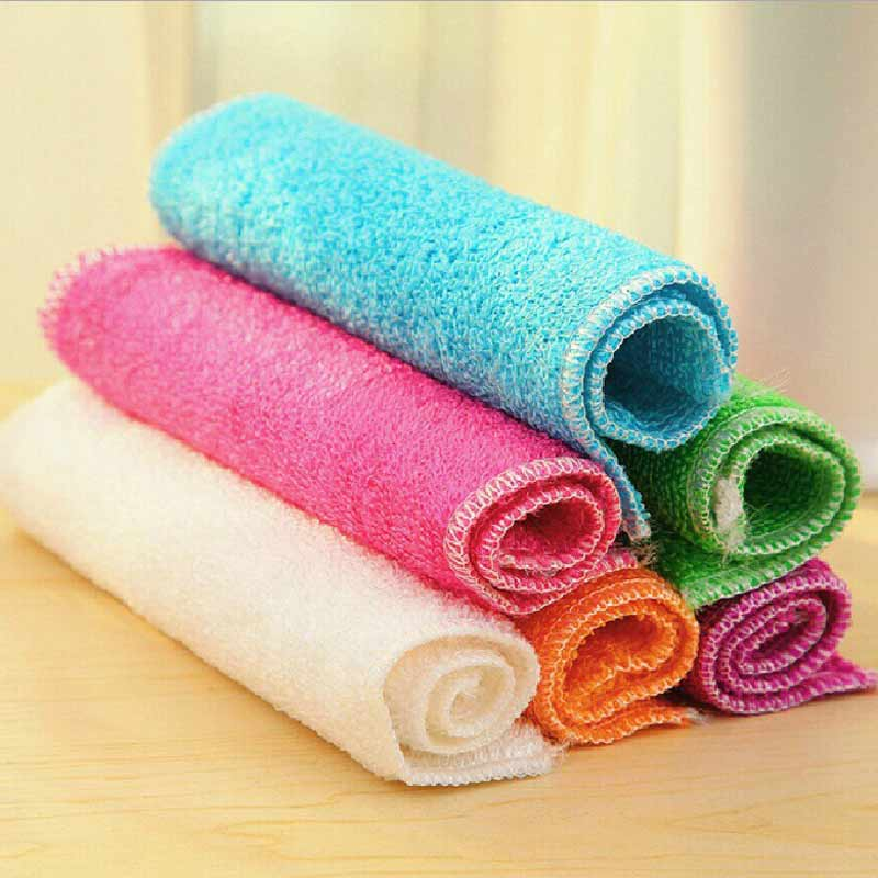 Delightful Magic Clean Glasses Cloth Kitchen Towels Microfibre Dish Towels Rags And  Rag Kitchen Dishcloth For Windows