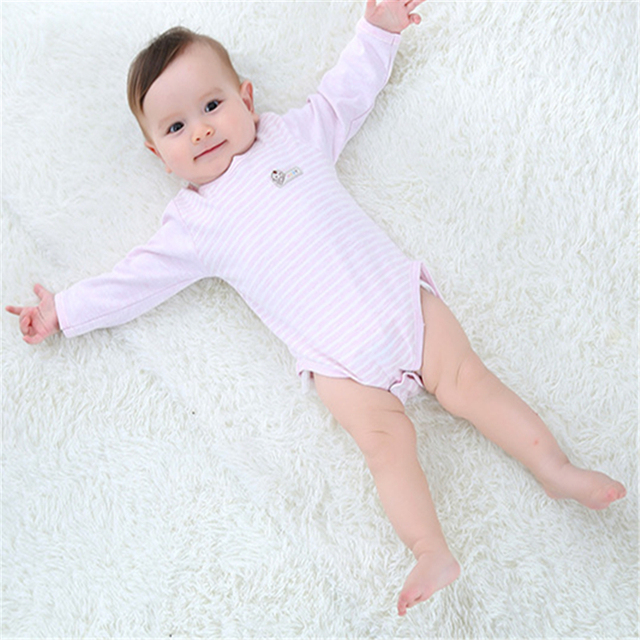 SexeMara  Neonatal clothes  Child's piecemeal  Boy girl clothes  Long-sleeved baby clothing Cotton baby clothes Triangle dress