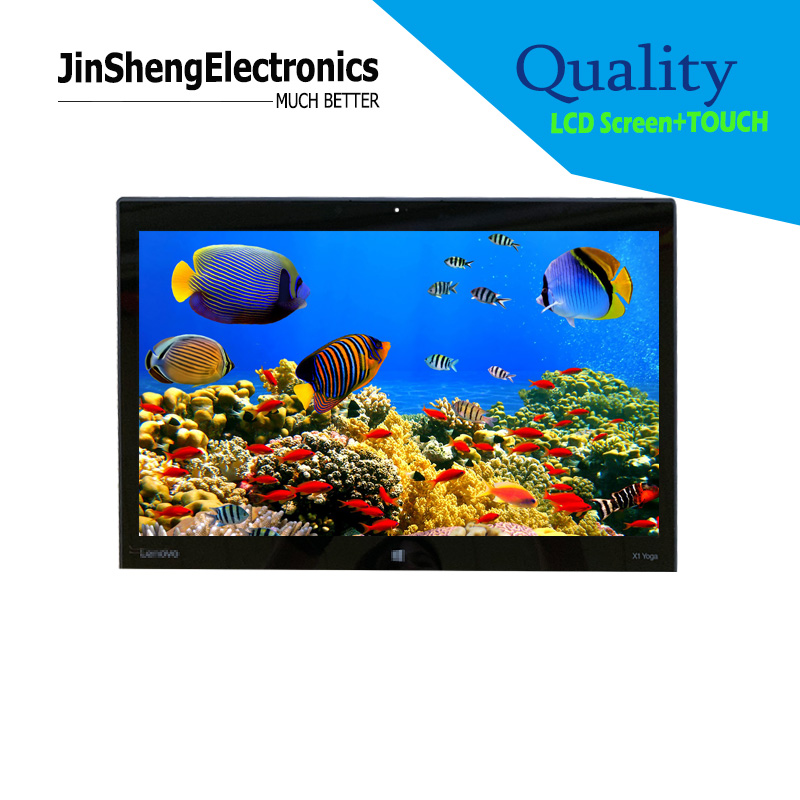 OLED 14'' For Lenovo Thinkpad X1 Yoga Lcd Display +glass Touch Full Assembly Atna40ju01-0 SD10G56716 YOGA 2ND GEN