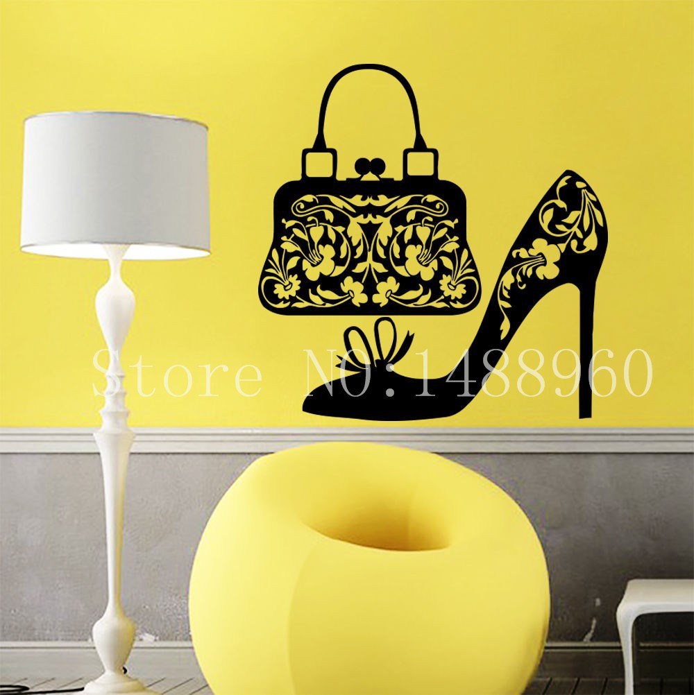 Awesome Shoes Wall Art Pattern - Wall Art Collections ...