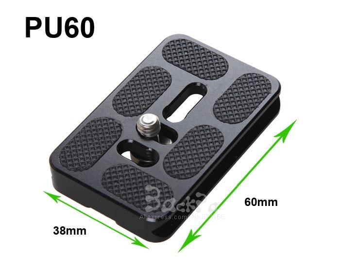 10pcs PU60 Universal SLR Camera Quick Release Plate For Arca Swiss Benro B0 B1 B2 J0 J1 Ballhead Camera Photo Studio Accessories