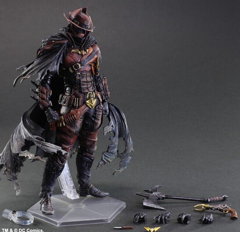 Jouer Arts Batman Ouest Cowboy Action Figure Kai PVC Figure Jouet 27 cm