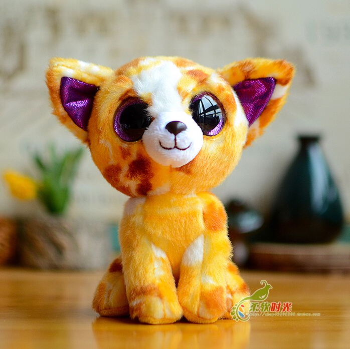 Baby Toy Lovely Big Ears Fox Doll Plush Animals Foxes Toys Gift