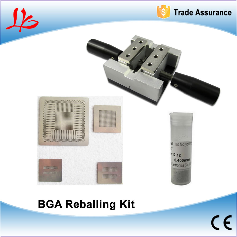 BGA Reballing Station + 2pcs Solder Ball + Direct Heating PS4 stencils CXD90025G,CXD90026G,K4G41325FC GDDR5 RAM,K4B2G1646E DDR3 pre heater preheating station bga reballing oven solder ball welding machine