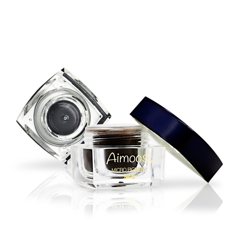 Aimoosi Nano Microblading eyebrow eyeliner pigment Paste for manual Semi Permanentmakeup tattoo ink 12 Colors to Choose in Tattoo Inks from Beauty Health