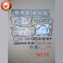 3VZ 3 5VZFE Двигатель полный комплект прокладок комплект для Toyota Camry/LEXUS ES 300 2958CC 3.0L 1991-2001 04111-62050 50137100