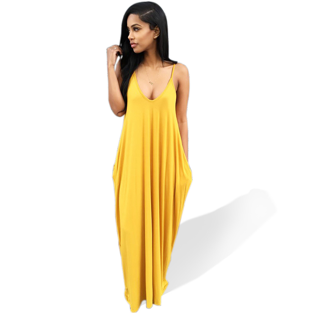 Plus Large Size XL Loose Sexy Party Beach Casual Office Boho Girl Long Dress 2018 Summer Bodycon Clothing Women's Dresses 204