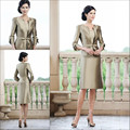 Mother Of The Bride Dress with Jacket Hot Custom Made Bride Mother Dress