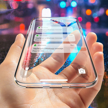 50 PCS  For Samsung Galaxy S10 Case S10 Plus S10e Classical Transparent Cover for Samsung Galaxy S10 half-wrapped Back Case Capa