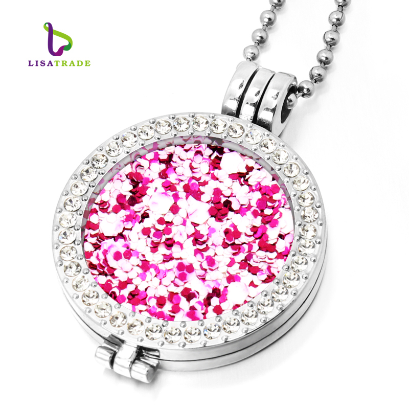 My Coin Necklace 33mm Coins Disc Fashion For Women Gift