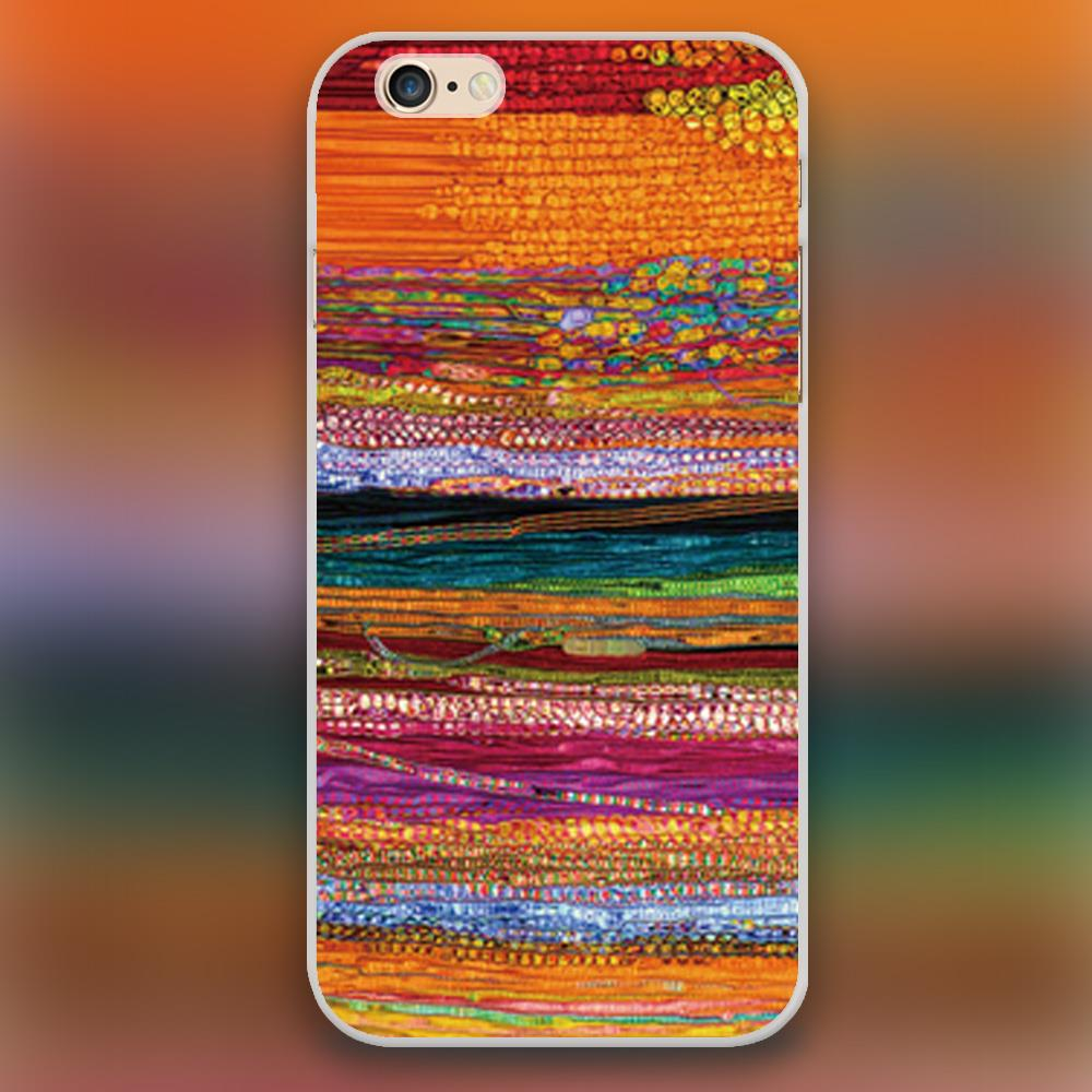 new style b0ade 10980 US $2.28 |Colorful india scarf Design black skin case cover cell mobile  phone cases for Apple iphone 4 4s 5 5c 5s 6 6s 6plus hard shell on ...