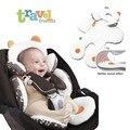 Assento de Carro Do bebê Carrinho De Bebê Carrinho de Bebé Segurança Almofada Macia Pad Dual-usado Ajustável Travesseiro de Carro Do Bebê da Segurança da Criança Mat