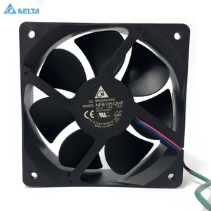 Cooling fan for delta NFB10512HF -7F03 DC 12V 0.39A 3-wire 3-pin connector 70mm 105x105x32mm Server Square Cooling fan