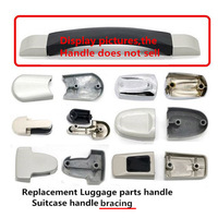 DIY Replacement Luggage Case Telescopic Handle Bag Parts Hardware Luggage Accessories Trolley Suitcase Handle Grip