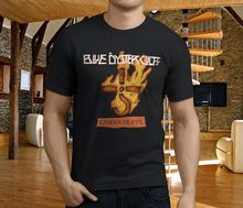 лучшая цена T Shirt Creator Short Sleeve Printing Crew Neck Boc Blue Oyster Cult Career Of Evil R Black Mens Shirt