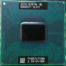 Оригинальный процессор intel Core 2 Duo T9300 CPU 6M Cache/2,5 ГГц/800/двухъядерный процессор Socket 479 для ноутбука GM45 PM45