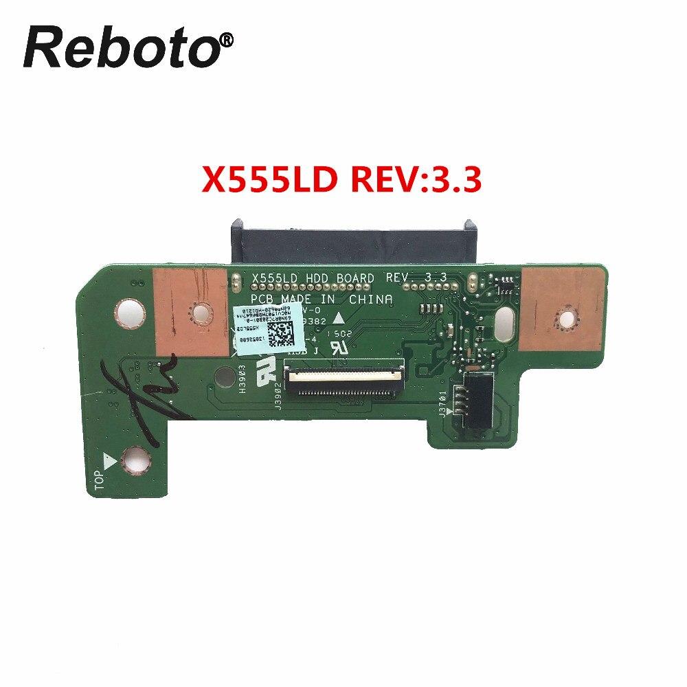 Reboto Wysokiej jakości Oryginalny Asus X555L X555LD HDD Pokładzie dysk twardy pokładzie X555LD REV: 3.3 69N0R7020B01 100% Testowane w Kable i złącza do komputera od Komputer i biuro na AliExpress - 11.11_Double 11Singles' Day 1