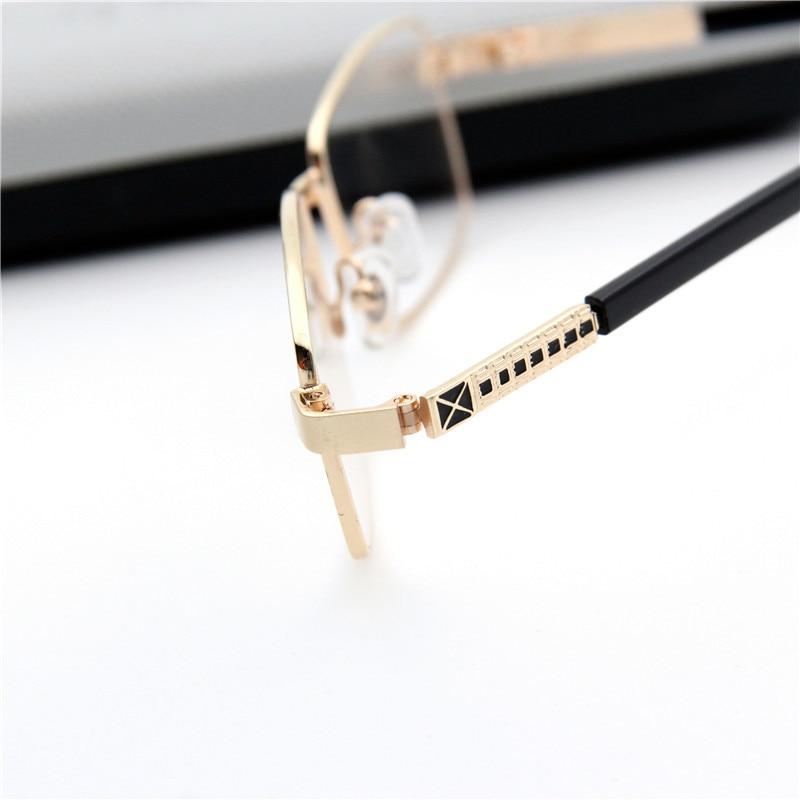 212b376988e Fashion Reading Glasses Men Eyeglasses Metal Frame Old People Reader  Glasses Gold Gray Gafas De Lectura Mens Reading Glass YJ760-in Men s  Reading Glasses ...