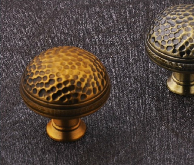 Free Shipping 30 X Cabinet Handles Oil Rubbed Red Bronze Cupboard Knobs