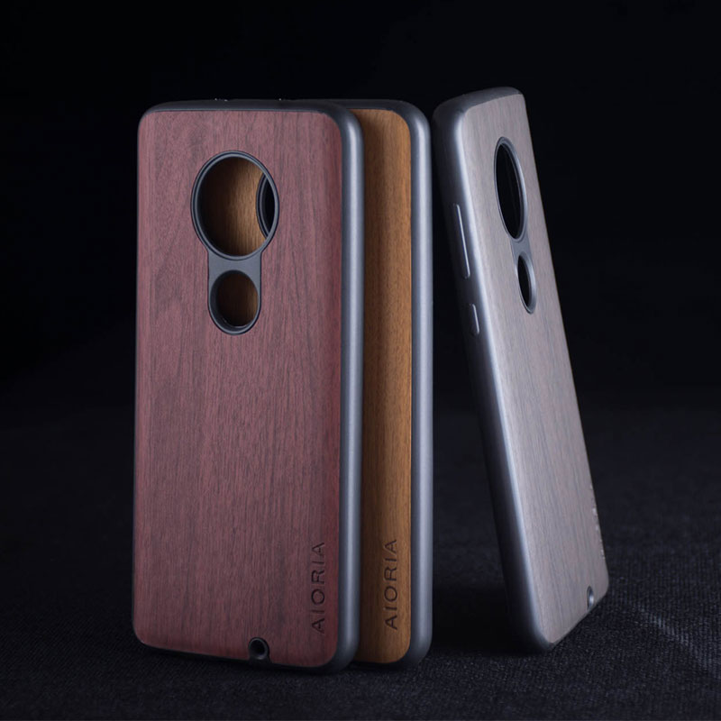 Wooden Design Case For Motorola Moto G7 Plus G5S Plus Coque Fundas Covers For Motorola Moto G6 Plus