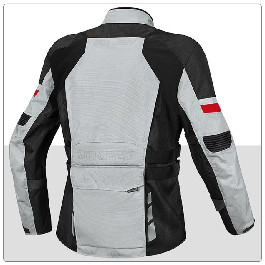 Mens Black Motorcycle Motorbike Textile Jacket Waterproof Cordura CE Armoured
