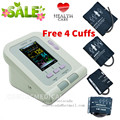 CE FDA Digital Blood Pressure Monitor,CONTEC08A Color LCD Display 4 free cuff ,Software PC
