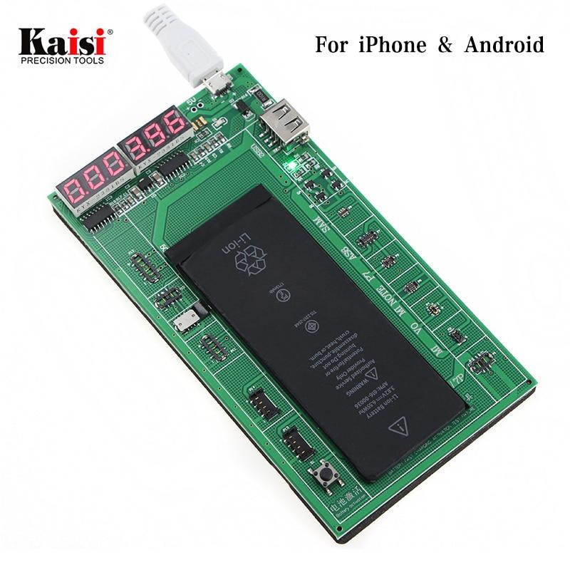 Kaisi Attivazione Batteria Del Telefono A Bordo Piatto Cavo di Ricarica USB Jig for iPhone and android mobile phone