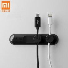 Xiaomi кабель для хранения Bcase кабели аккуратный Органайзер Магнитный поглощающий кабельный зажим красочный практичный Магнитный Настольный держатель для телефона