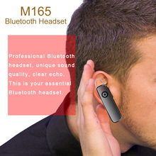 M165 Wireless Bluetooth Earphone Strereo Handsfree Earbud Portable In Ear Working Driving Sport Headset With Mic For Phones цены онлайн