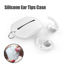 Silicone Eartips Headphone Case Bag Pouch for Apple Earpods Earbuds Hook Cap Min